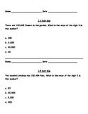 Grade 4 Go Math Exit Slips Ch1-4