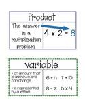 Grade 4 Go Math Word Wall