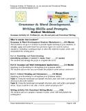 Grade 4+ Grammar Activity 18: Prefixes and Procedural Writing