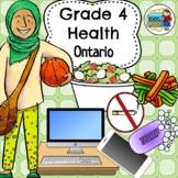 Grade 4 Health Ontario Curriculum 2019 Updated
