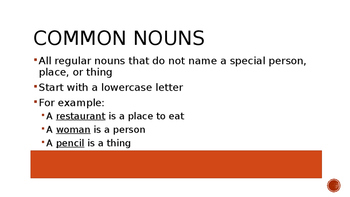 Grade 4 Home Language- Nouns Powerpoint