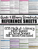 Grade 4 Illinois Standard Reference Sheets