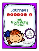 Grade 4: Journeys Daily Proofreading Practice Lesson 1