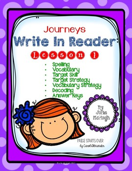 Grade 4: Journeys Write In Reader Lesson 1