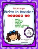 Grade 4: Journeys Write In Reader Lesson 10