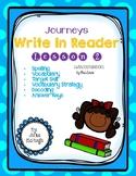 Grade 4: Journeys Write In Reader Lesson 2