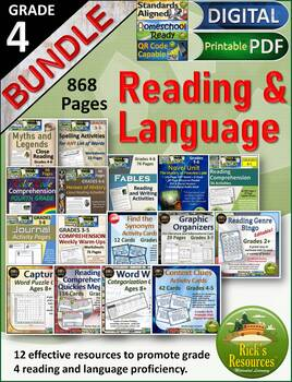 Language Comprehension Bundle Grade 4