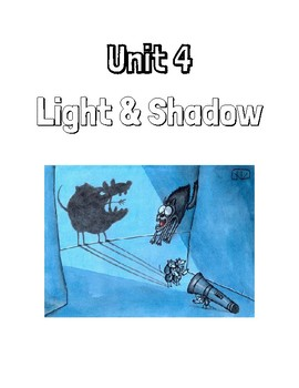 Grade 4 - Light and Shadow Full Alberta Unit Workbook
