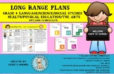Grade 4 Long Range Plans - Ontario (All Subjects Other than Math)