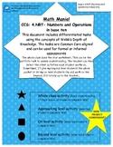 Grade 4 MATH DOK- Place Value 5 TASKS + the new MATH MONSTER!