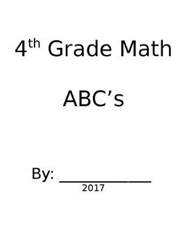 Grade 4 Math ABC Booklet