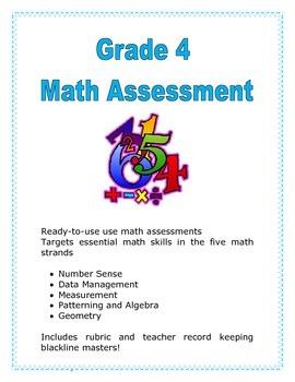 Grade 4 Math Assessment