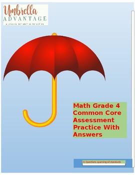 Grade 4 Math Assessment/CCSS