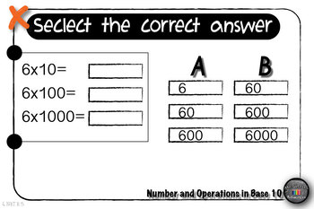 Grade 4 Math Assessments: Number and Operations in Base 10