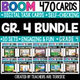 Grade 4 Math Bundle Boom Cards | Distance Learning