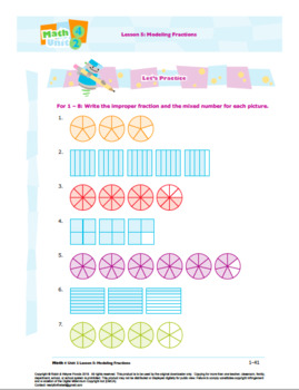 Grade 4: Math: Decimals & Fractions Worksheet Bundle
