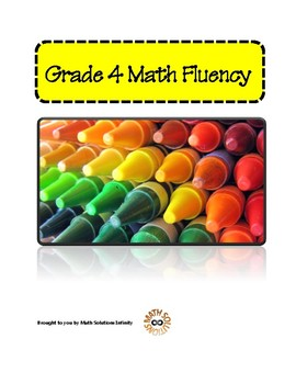 Grade 4 Math Fluency Program COMPLETE