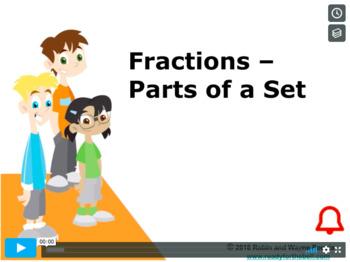 Grade 4: Math: Fractions- Parts of a Set Concept Capsule