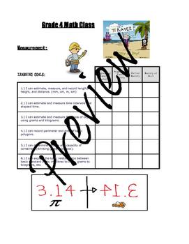Grade 4 Math Learning Goals
