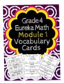 Grade 4 Math Module 1 Vocabulary Cards