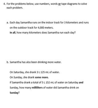 Grade 4, Math Module 2 REVIEW & ASSESSMENT Bundle w/keys (printables & Smart Bd)