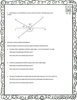 Grade 4 Math Module 4 End of Module Review