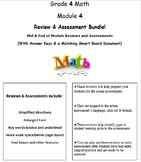 Grade 4, Math Module 4 REVIEW & ASSESSMENT w/Ans keys (pri