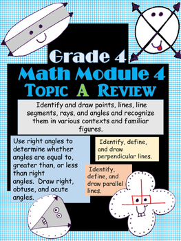 Grade 4 Math Module 4 Topic A Review with Answer Key!
