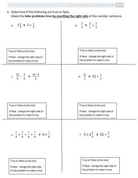 Grade 4, Math Module 5, Review & Assessment & keys whole Mod Bundle!