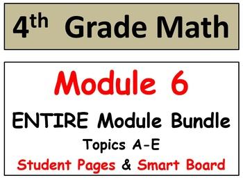 Grade 4 Math Module 6 Entire Module Bundle: Smart bd-Stude