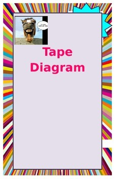 Poster for Grade 4 Math - Tape Diagrams