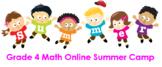 Grade 4 Math Online Summer Camp