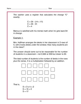 Grade 4 Math Operations & Alegebraic Thinking Tutorial and Practice Value Bundle