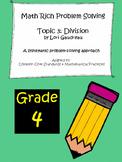 Grade 4 Math Rich Problem Solving: Division
