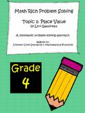 Grade 4 Math Rich Problem Solving: Place Value