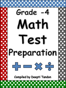 Grade-4 Math State Test Preparation Guide