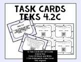 Grade 4 Math TEKS Place Value Task Cards with QR Codes {4.2C}