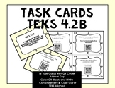 Grade 4 Math TEKS Place Value Task Cards with QR Codes {4.2B}