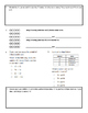Grade 4 Math Test: Addition, Subtraction, Multiplication,