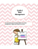 {Grade 4} Math Test Data Management Graphing, Data Analysis, Stem and Leaf Plot