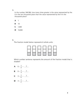 NYS Common Core Math Test Prep Grade 4