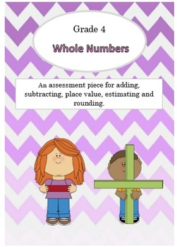 {Grade 4} Math Test Whole Numbers