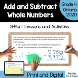 Grade 4 Math Three Part Lesson Adding 4-Digit Numbers