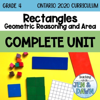Grade 4 Math Three Part Lesson Perimeter and Area Complete Unit