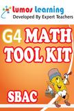 Grade 4 Math Tool Kit for Educators, SBAC Edition