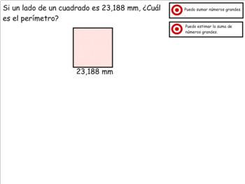 Grade 4 Math in Spanish - 4.NBT.4   Add Big Numbers