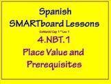 Grade 4 Math in Spanish - NBT.1  Place Value Basics    GoMath aligned