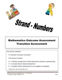 Grade 4 - Mathematics Transition Assessment