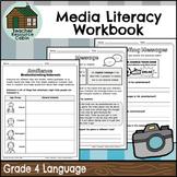 Grade 4 Media Literacy Workbook | NO PREP (Ontario Language Curriculum)