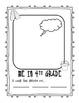 Grade 4 Memory Book - Beach Theme - Printable